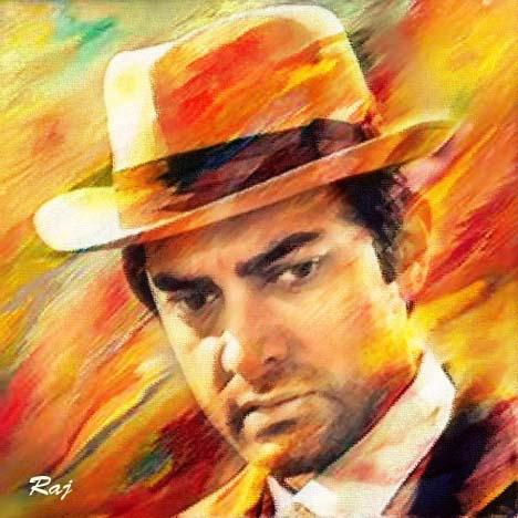 Aamir Khan par rajuarya